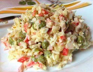 Салат крабовый «Лаура»