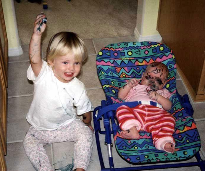 : Babies, Sibling, Funny Stuff, Funnies, Humor, Things, Kids, Poor Baby