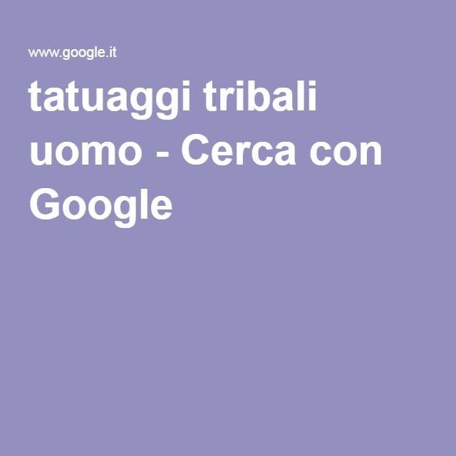 tatuaggi tribali uomo - Cerca con Google