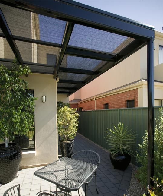 Add a functional outdoor space to shade and protect recreation areas ...