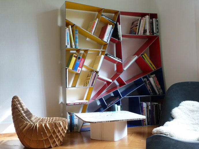 x_shelf – A Modern Alucobond Bookshelf Designed in Grasshopper