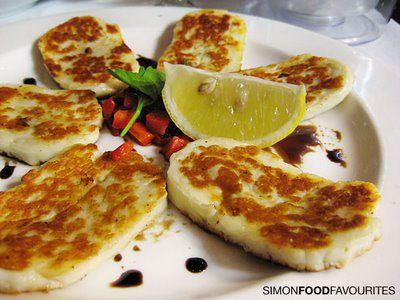 Halloumi is also unique in having a high melting point and so can easily be fried or grilled.  It is the high pH (low acid) of the cheese that causes this non-melting characteristic. Although the cheese keeps its shape, its outward appearance turns into a crispy, golden-brown color when fried or browned and with grill marks when grilled, it softens significantly but it does not melt.