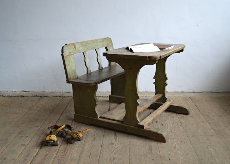 Carved writing bench - artKRAFT - Furniture&Design