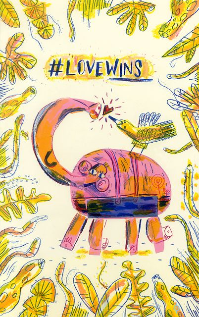 CALVERT: #LOVEWINS #Illustration #Ilustración