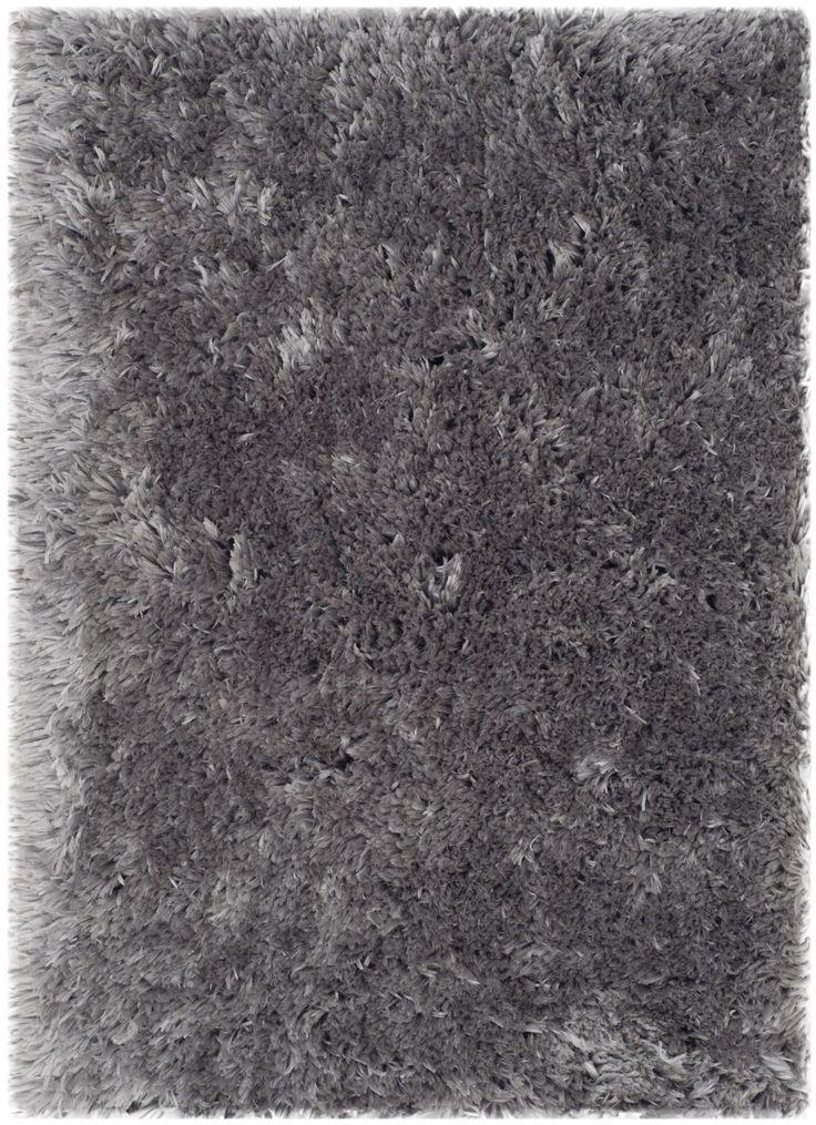 Earley Shag Grey Area Rug