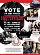 Festival Vote On The Rocks 2012 in France