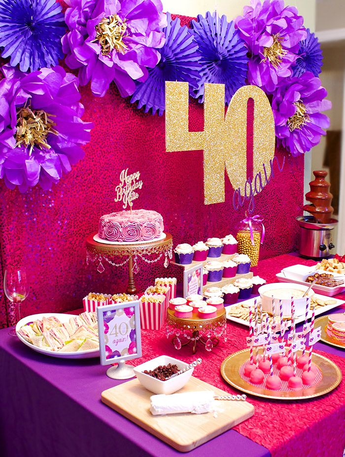 13 best 40th Birthday Party Ideas images on Pinterest 40th