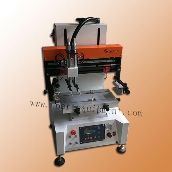 1395.00$  Watch now - http://aligol.worldwells.pw/go.php?t=32645384151 - automatic scutcheon label silk screen printing machine 1395.00$