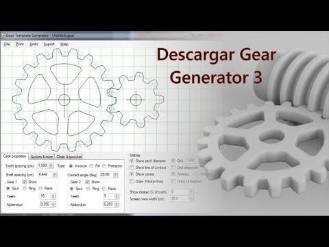 Tutorial Rhino 3D | Descargar Gear Generator Full