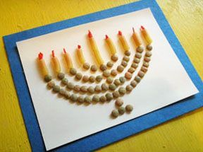 Hanukkah crafts for kids - from marie @makeandtakes