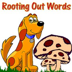 """Learning word roots is a powerful way to build vocabulary. This online game, """"Rooting out Words"""" is an interactive way for kids to test their knowledge of word roots and related words. Enjoy!"""