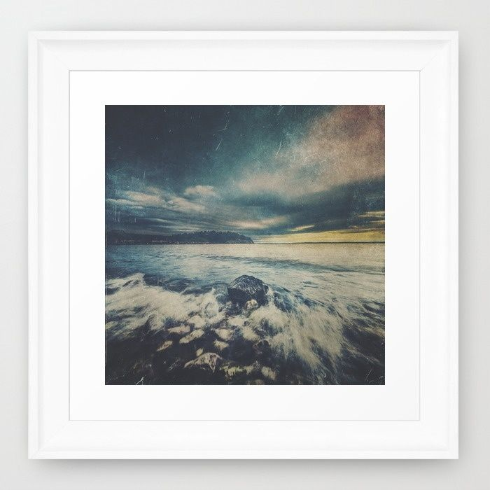 Dark Square Vol. 10 Framed Art Print