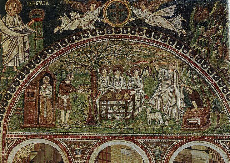 Icon Of The Holy Trinity Ravenna