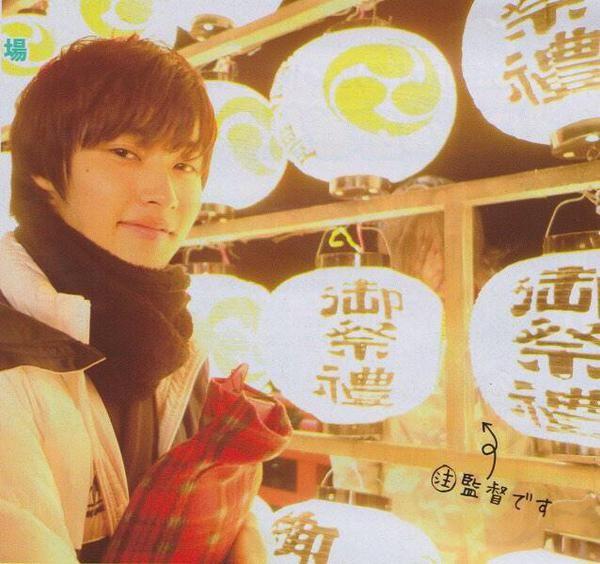 "Kento Yamazaki, BTS photo, J live-action movie of manga, romantic comedy ""Heroine Shikkaku(No Longer Heroine)"". Release: Summer 2015"