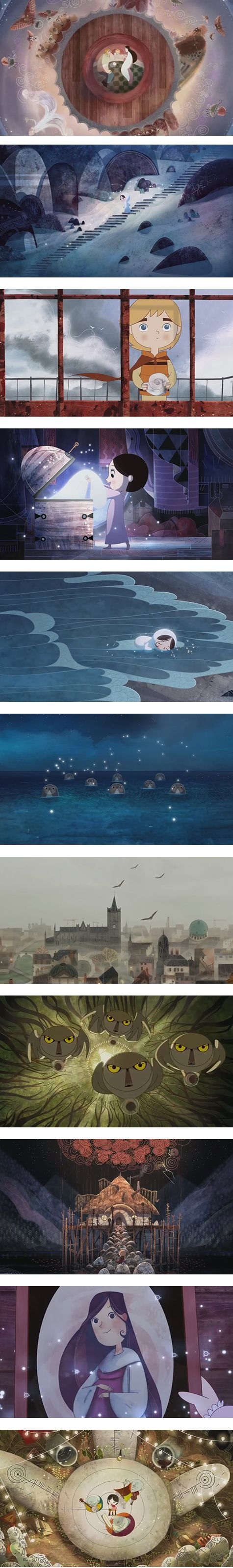 Song of the Sea - Haven't seen this, but I'd like to. By the same artist(s) who made 'The Book of Kells' film, which was very good.