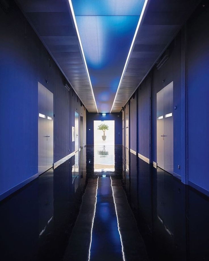 Programmable LEDs at the Koninklijke Philips office by Inbo, JHK Architecten, and @LAVA_Architects reflect the Dutch company's stock in trade—illumination. : Gerry Amstutz. @sandow #architecture #interior #design #interiordesign #office #netherlands #lighting #LEDs... - Interior Design Ideas, Interior Decor and Designs, Home Design Inspiration, Room Design Ideas, Interior Decorating, Furniture And Accessories