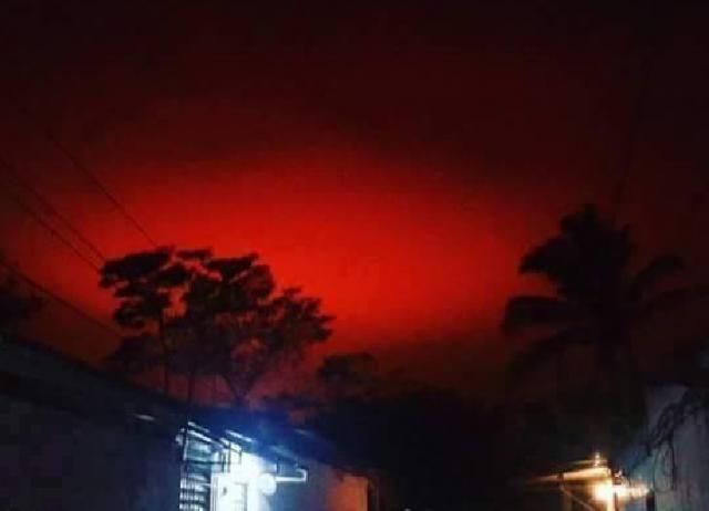 Disso Voce Sabia?: O que seria a Misteriosa luz vermelha vista nos céus de Chalchuapa , El Salvador?