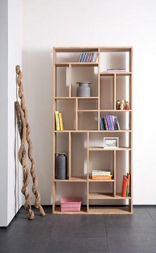 Ethnicraft Oak M-Rack Bookcase