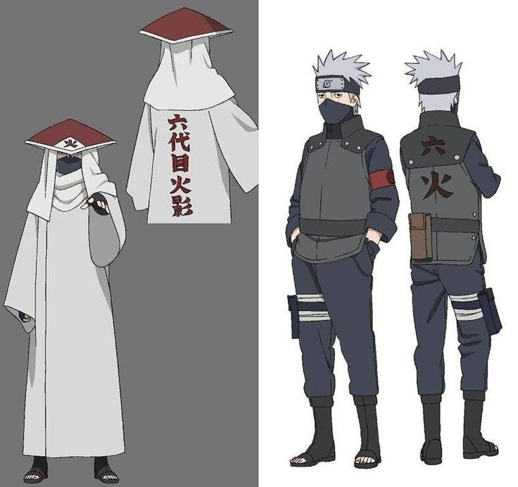 kakashi new design - Google-søgning | Naruto Collab ...