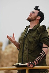 IDF soldier talks with Yahweh G-d.