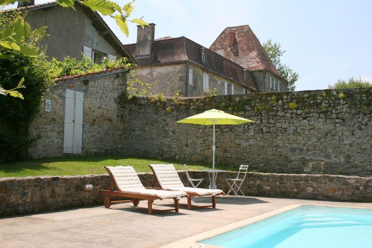 #holidayrental #pool #Doumailhac #France