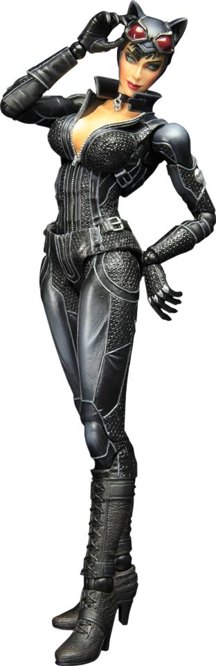 Meow!  >^..^<   Catwoman- Arkham City Collectible Figure
