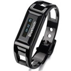 Bluetooth V1.2 Bracelet Wrist Watch with Caller s ID /24H Time Display
