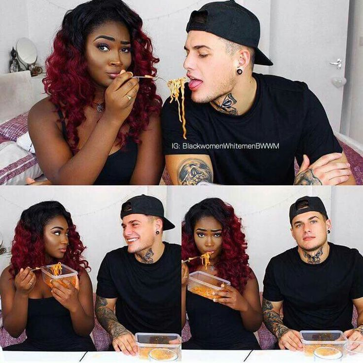 Really cute interracial couple #love #wmbw #bwwm