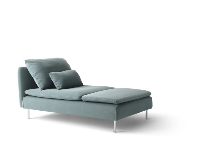 SÖDERHAMN Chaise longue Finnsta turkoois | Chaise lounges Bedsit and Dark interiors  sc 1 st  Pinterest : ikea chaise lounge - Sectionals, Sofas & Couches