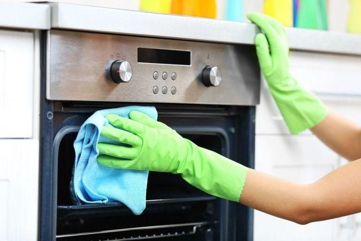 Cómo limpiar el horno sin químicos ventana del horno