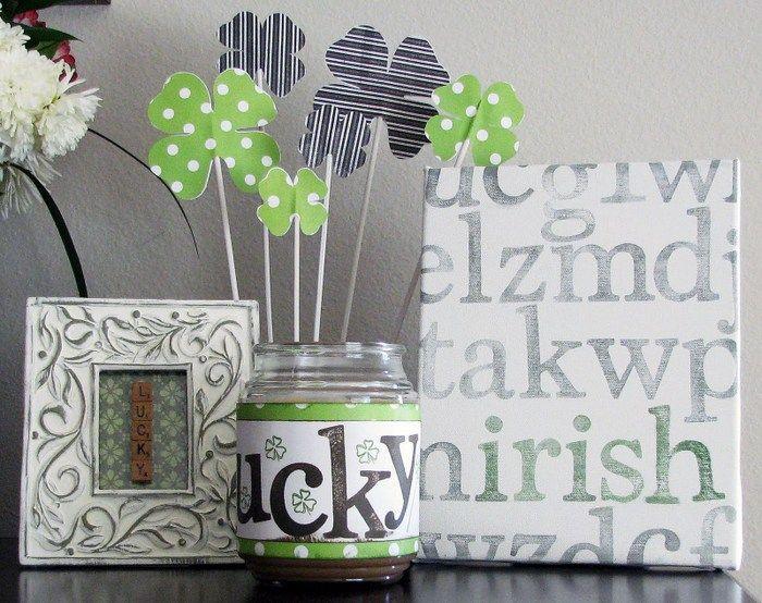 22 st patrick s day diy decor ideas craft ideas pinterest