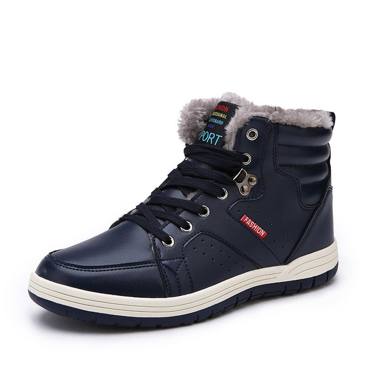 ==> [Free Shipping] Buy Best Men Boots 2017 Men Leather Boots Autumn winter Fashion Men Shoes Casual Breathable Big Size Online with LOWEST Price | 32822158896