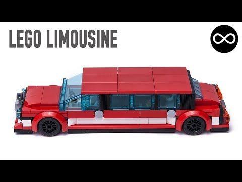 Custom design LEGO City Limousine car