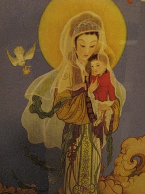 Chinese Madonna and Child