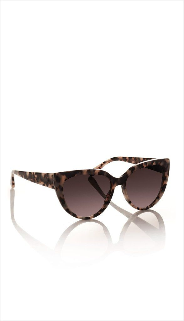 JH eyewear is the perfect accessory to complete your JH look. The no. o2 style is a classic cats eye shape available in 3 colourways - a classic black frame with a black lens, a milky tortoiseshell frame with a honey brown gradient lens and a transparent champagne frame with a honey brown gradient lens.   http://juliettehogan.com/collections/jh-eyewear/products/no-o2?variant=29212378307