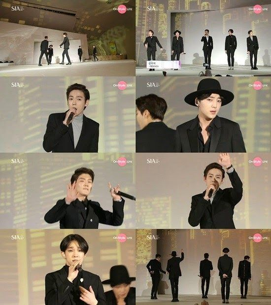 WINNER hit the runway and perform 'Empty' at SIA 2014