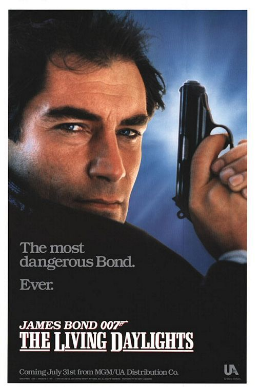 The Living Daylights Movie Poster - Internet Movie Poster Awards Gallery 1987