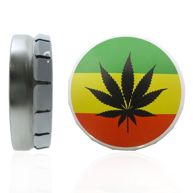 Boite piercing Cannabis