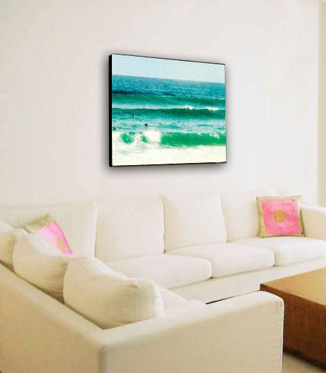 Large Canvas Art, Ocean, Large Wall Art, Sufer Photography, Beach Home Decor