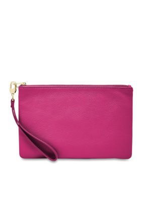 Fossil Women's Rfid Wristlet - Hot Pink - One Size
