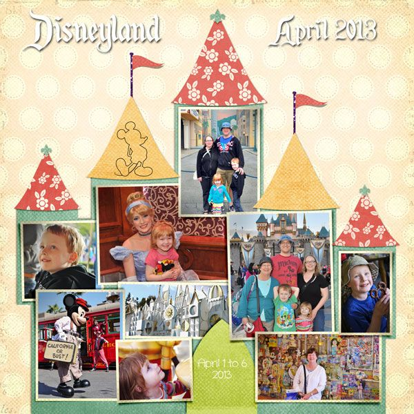 2013 Cover - MouseScrappers - Disney Scrapbooking Gallery