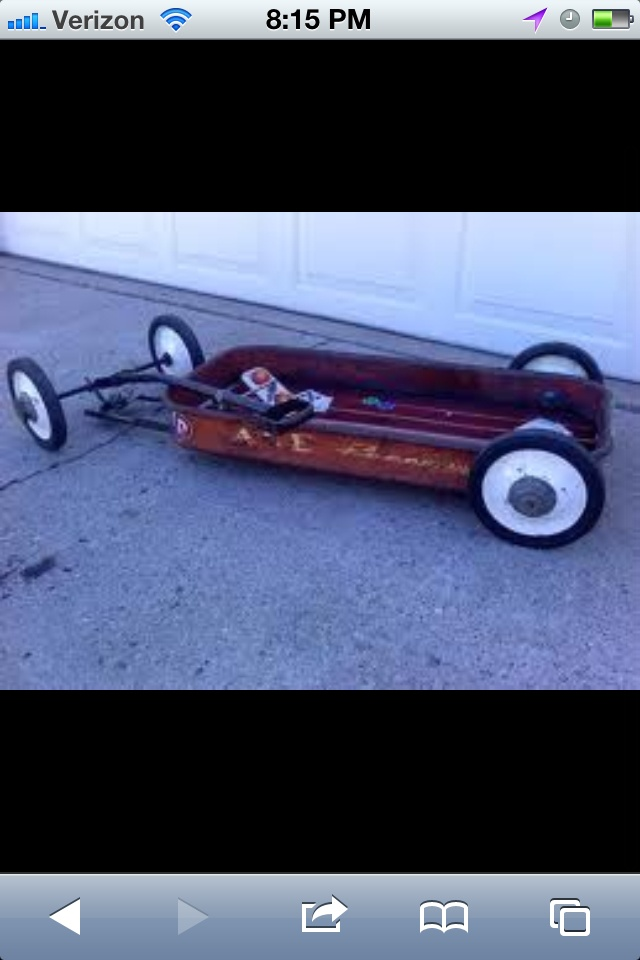 Cool Car Picture >> Lowered kids wagon | cool stuff on wheels | Pinterest | Pedal car, Cars and Wheels