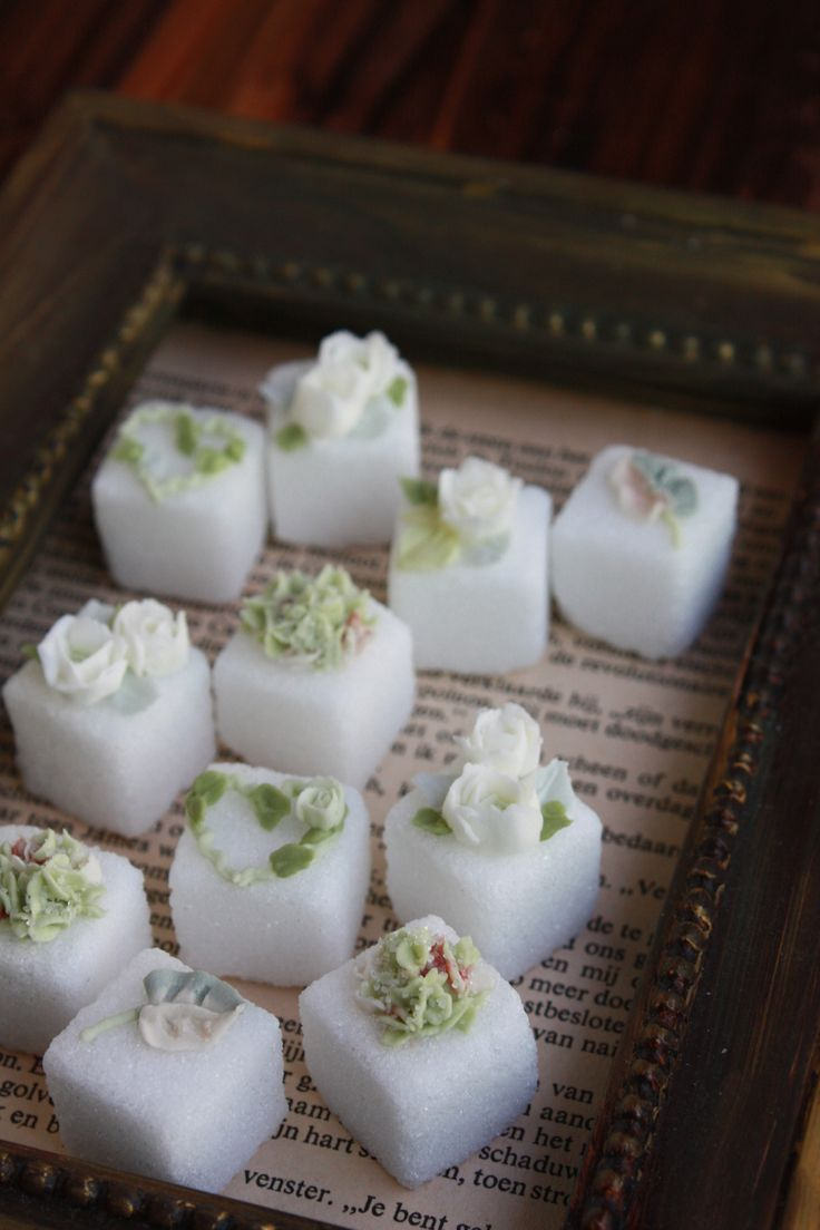 52 Best Decorated Sugar Cubes Images On Pinterest Meals