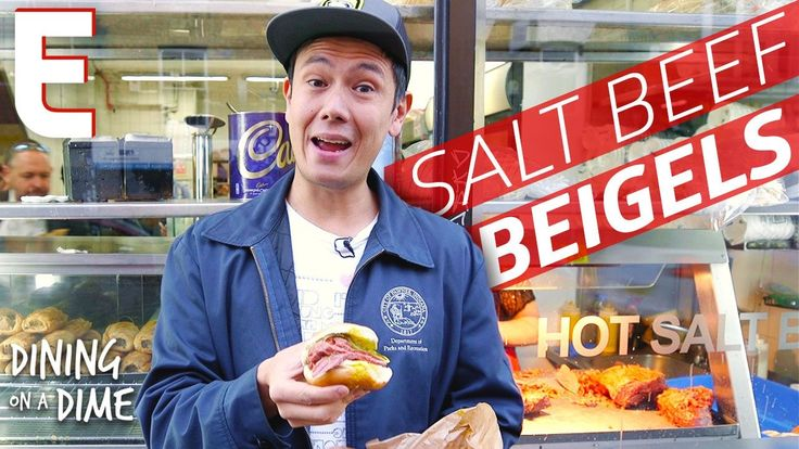 Lucas Peterson is loose on the streets of London, and he's looking for a hearty snack. This episode of Dining on a Dime takes him down Brick Lane to try beig...