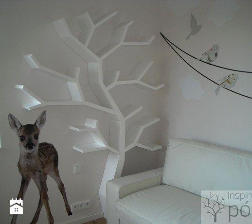 Półka drzewo 210x160x20cm - zdjęcie od Inspirujace półki