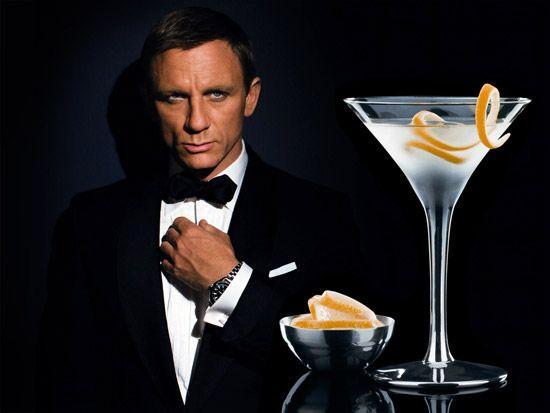 James Bond's Vesper Martini Recipe my favorite Bond so far.  I think Ian Fleming would approve!