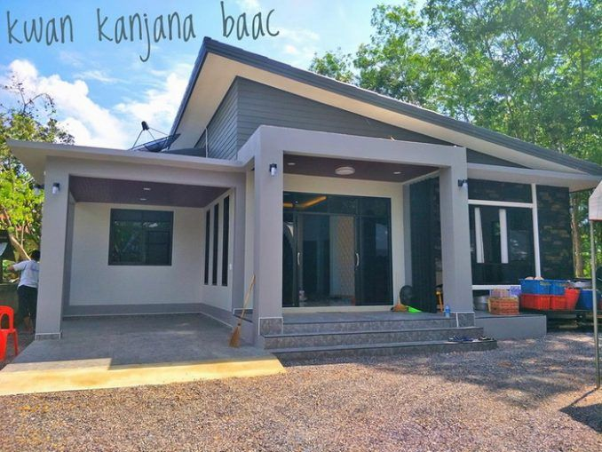Three Bedroom Modern House With A Shed Roof Ulric Home In 2020 Modern Bungalow House Bungalow House Design Modern Bungalow