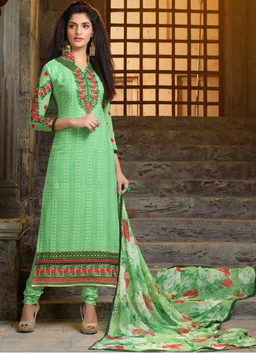 Chudidar Salwar Suit Online  Visit: http://ladiesflavour.com Contact Us: +91-7046399899  Email Id : ladiesflavour1008@gmail.com