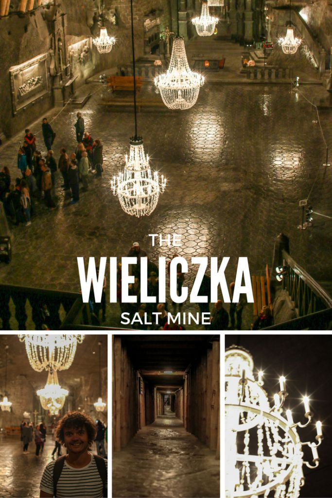 The Wieliczka Salt Mine is a perfect day trip from Krakow, Poland.