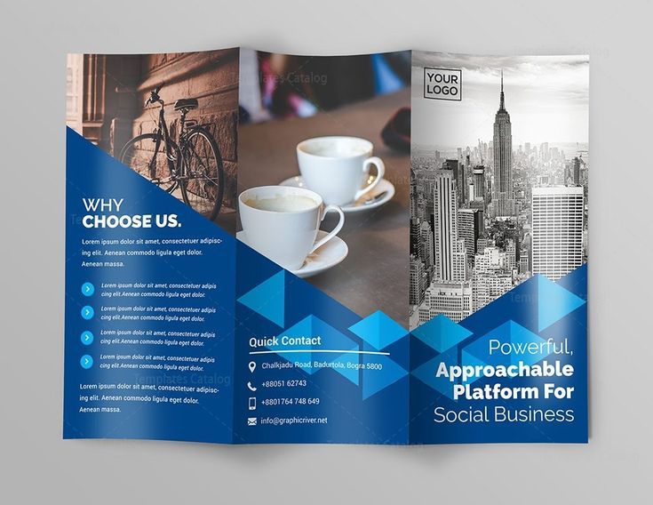 The  Best Tri Fold Brochure Ideas On   Tri Fold